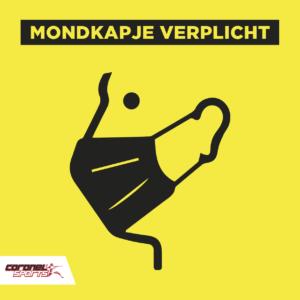 Mondkapjes verplicht | sportschool | Coronel Sports Huizen